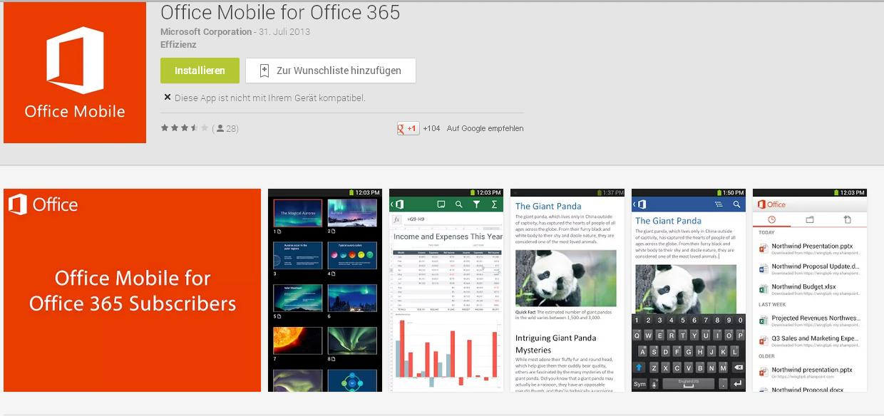 crack office 365 android